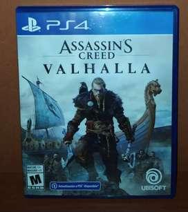 Se vende Assasin's Creed Valhalla, versión estándar para PS4