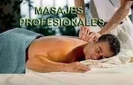 Masajes profesionales