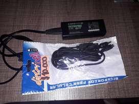 CABLE USB PARA DATOS Y CARGA CON ADAPTADOR