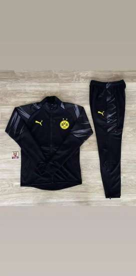 Sudadera Fútbol Borussia Dortmund Negro