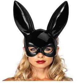 Mascara Antifaz Conejo Disfraz Brillante