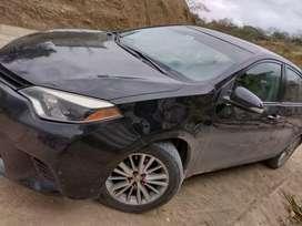 Toyota Corolla se vende por motivo d viaje