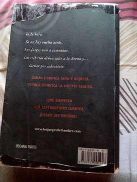 Libro ''Los juegos del hambre''