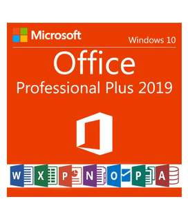 licencia original office 2019 profesional plus pro