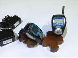 Un Par de Walkie Talkie Radio teléfono BellSouth FW13ZHS - Diseño especial Relojes de pulsera.