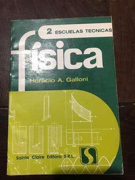 Fisica2. Esc. Tecnicas. Horacio Galloni