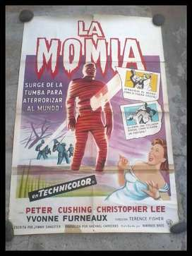 afiche de cine antiguo de la momia 1959