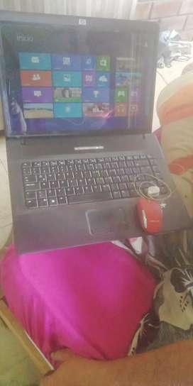 Mi laptop HP 550 en buen estado