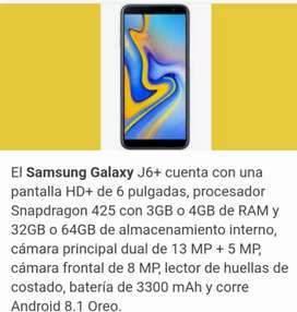 Se vende samsung j6 plus