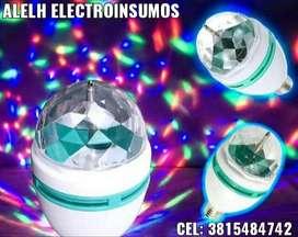 FOCO LED RGB GIRATORIO