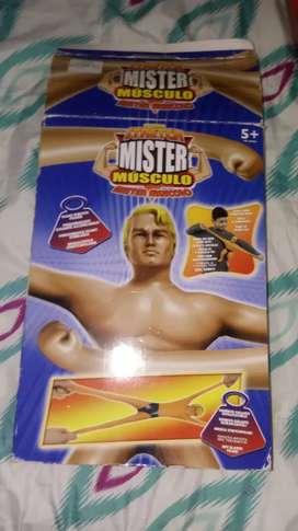 Se vende muñeco mister músculo