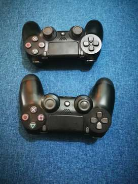 Vendo dos controles de playstations 4