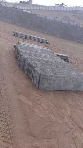 Cerco Perímetro de concreto en Cañete