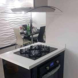 Cocinas integrales en madera quintuplex Financiamos