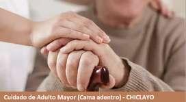 URGENTE: Cuidadora de adulto mayor (Trabajo con cama adentro) - CHICLAYO