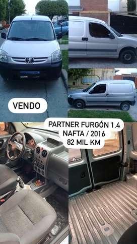 Partner furgón comfort nafta 1,4
