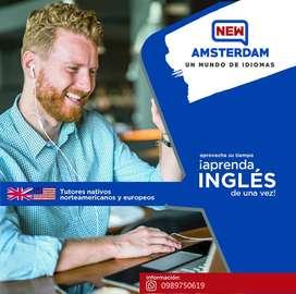 Aprovecha tu tiempo y aprende inglés