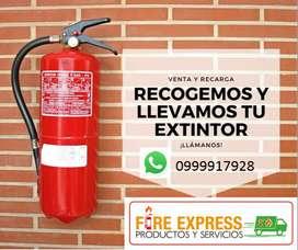 RECARGA DE TODO TIPO DE EXTINTORES IN SITU ( FIRE EXPRESS PRODUCTOS Y SERVICIOS)