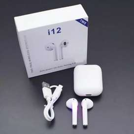 Airpods i12 Bluetooth, iPhone, Samsung, Motorola!