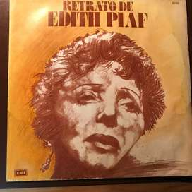 LP recopilatorio de Edith Piaf año 1975