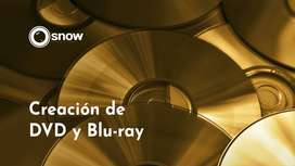 Creación y Autoría de BluRay y DVD menú interactivo.