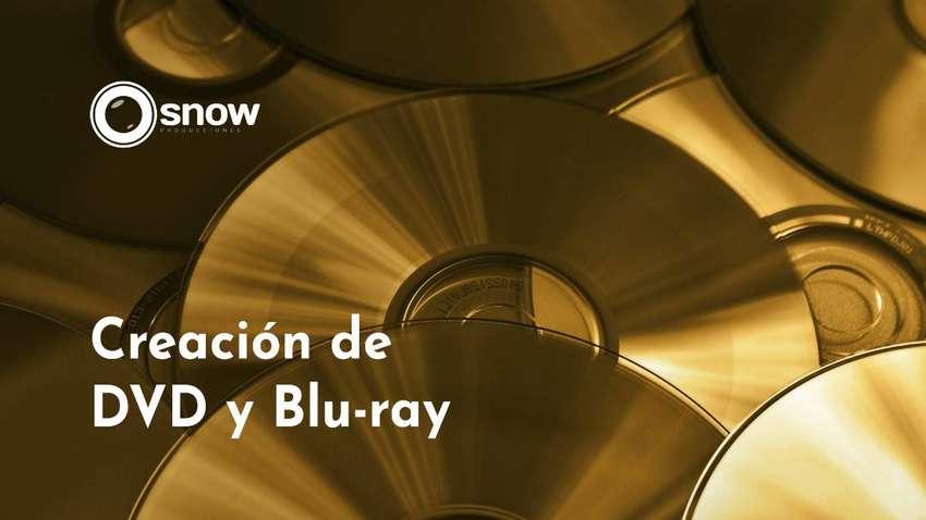 Creación y Autoría de BluRay y DVD menú interactivo. 0