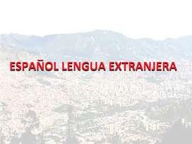 Enseño español lengua extranjera (online).