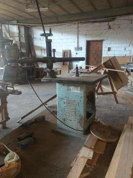 Trompo para Carpinteria de Madera