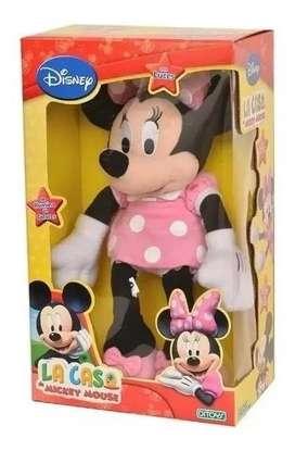 Peluche Minnie Con Luz Original Ditoys