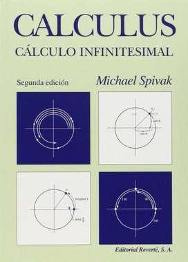 CÁLCULO INFINITESIMAL, CALCULUS, SPIVAK MICHAEL, PASTA DURA!!!