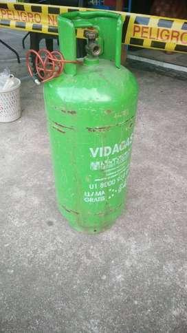 Se vende silindro de gas mediana