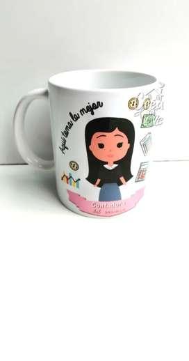 Mugs personalizados Recordatorios Souvenirs
