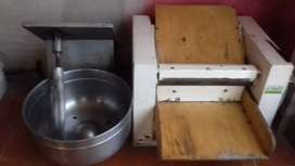 Sobadora 4.5 y amazadora 10kg