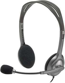 Audífonos Diadema Logitech H111 Micrófono
