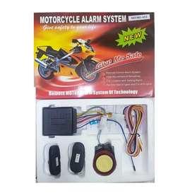 Alarma doble vía moto encendido a distancia largo alcance anti  robo