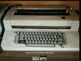 Maquina de Escribir Eléctrica Marca Ibm
