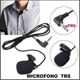microfono de solapa para computadores camaras digitales grabadoras con conector trs