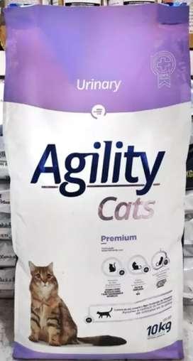 Agility gatos adultos urinary x 10 kgrs