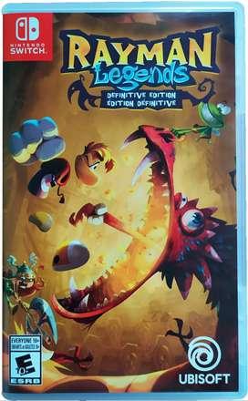 Rayman Legends Definitive Edition - ENVÍO GRATIS - Nintendo Switch