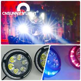 Exploradoras 6 LED lupa RGB