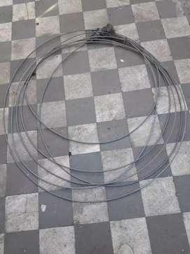 Cable de acero destapacañerias