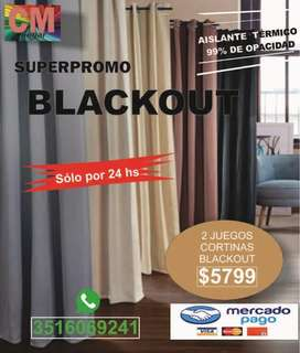 Oferta Cortinas Black Out