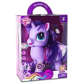 Juguete para niña Pony con accesorios y Sonido Nuevo!