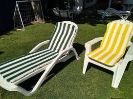 Almohadones para sillones y reposeras