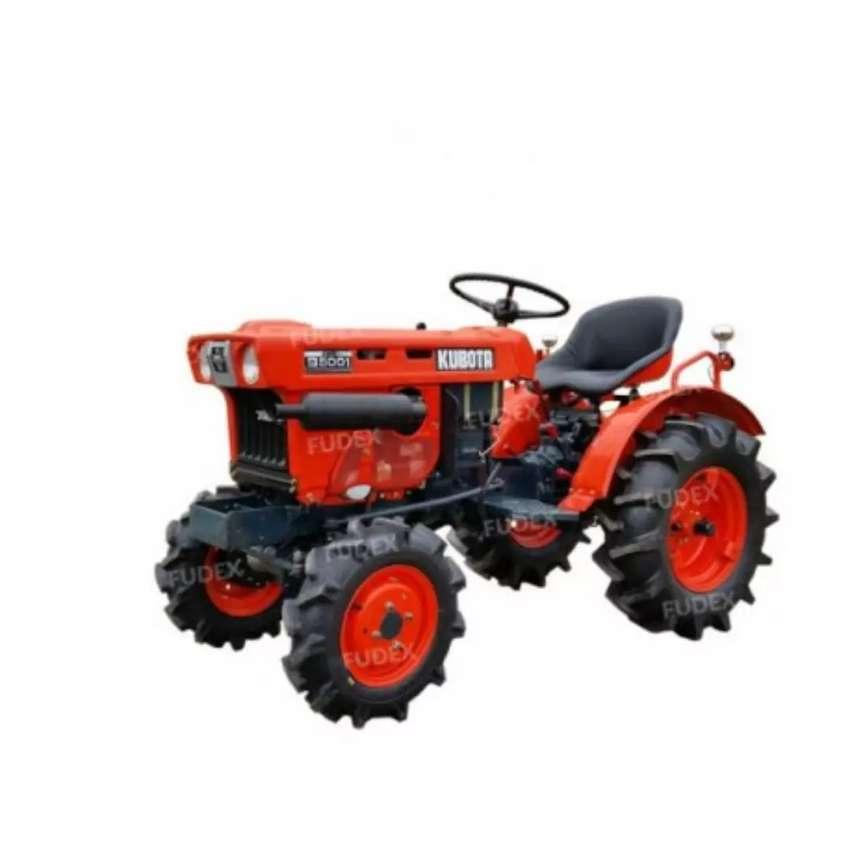 Mini tractor agricola minero KUBOTA japonés importado 11 HP 4X4, motor diésel de 2 cilindros, 100% operativo 0