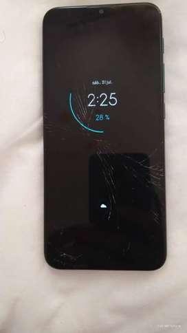 Motorola One Fusion con detalle
