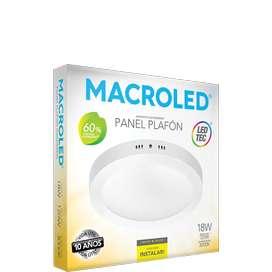 Paneles PLAFON de led MACROLED nuevos