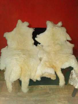 Alfombra de piel natural de oveja