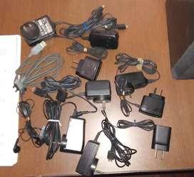 Cargadores, cables, auriculares de celulares