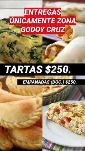TARTAS Y EMPANADAS
